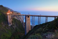 Bixby Bridge at Magic Hour